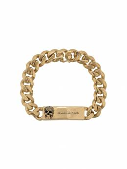 Alexander McQueen браслет Chain Skull 587716J160Z