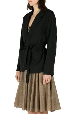 Isabel Marant Etoile Black Idony Cotton Blazer M 211388
