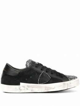 Philippe Model кроссовки с блестящими вставками PRLDXG01