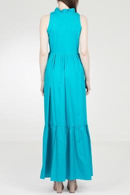 Длинное голубое платье Twin-set 1506143437