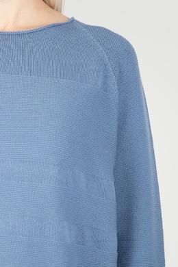 Голубой джемпер с рукавами-реглан Peserico 1501143557