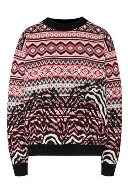 Разноцветный свитер Animalier Alanui 1870143939