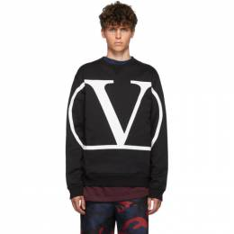 Valentino Black VLogo Sweatshirt SV3MF05H5F7