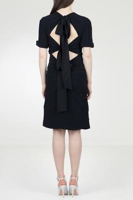 Черное платье с отделкой No. 21 35143894