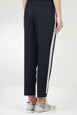 Черные брюки с лампасами Peserico 1501143600