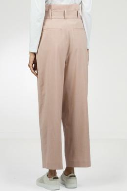 Свободные брюки с запахом Peserico 1501143848