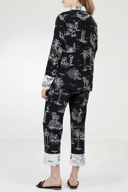 Пижамный костюм с тропическим принтом No. 21 35143832