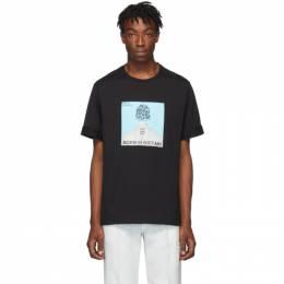 Neil Barrett Black Album Cover T-Shirt 192368M21301605GB