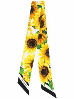 Dolce & Gabbana узкий платок с принтом FS215AGDO44