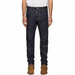 Dsquared2 Indigo Resin 3D Cool Guy Jeans S74LB0624 S30309