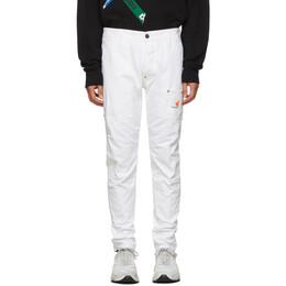 Dsquared2 White Canvas Jeans S74KB0304 S52016