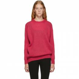 Max Mara Red Relax Knitted Sweater 192118F09600504GB