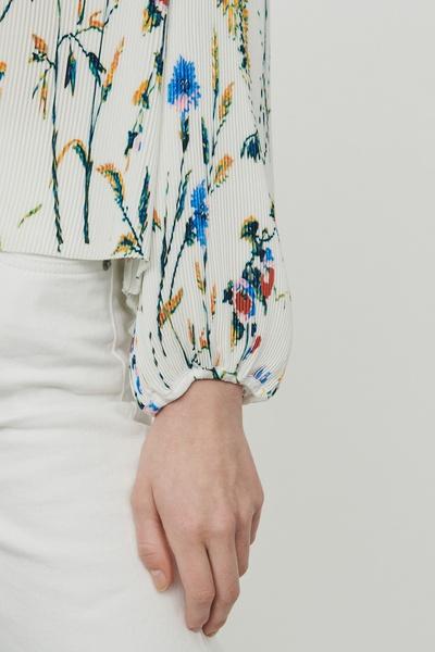 Плиссированная блузка с принтом Maje 888125183 - 5