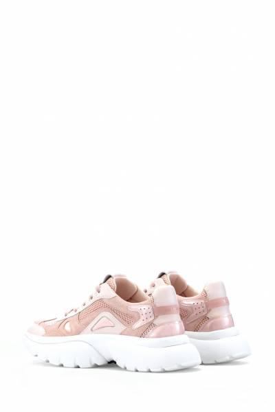 Розовые кроссовки с толстой подошвой Maje 888125141 - 3