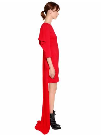 Платье Из Кади Antonio Berardi 67ICCN001-NjEw0 - 6