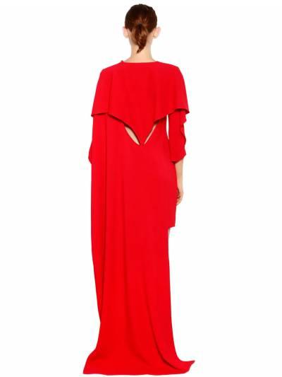 Платье Из Кади Antonio Berardi 67ICCN001-NjEw0 - 7