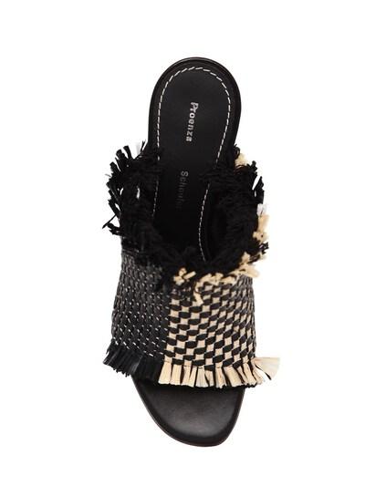 Туфли-мюли Из Плетёной Рафии 70mm Proenza Schouler 67I82B001-MTEwTg2 - 6