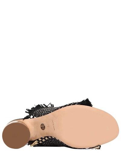 Туфли-мюли Из Плетёной Рафии 70mm Proenza Schouler 67I82B001-MTEwTg2 - 7