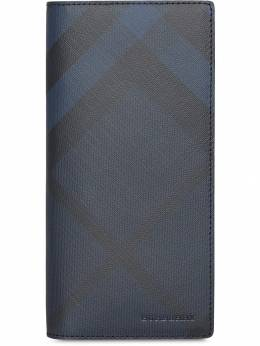 Burberry кошелек в клетку London Check 8006033