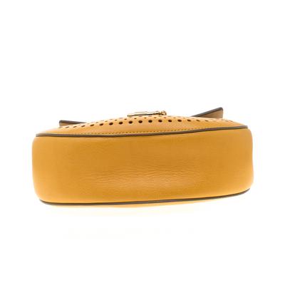 Chloe Mustard Leather Medium Drew Shoulder Bag 187167 - 6