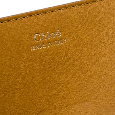 Chloe Mustard Leather Medium Drew Shoulder Bag 187167 - 8