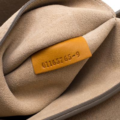 Chloe Mustard Leather Medium Drew Shoulder Bag 187167 - 9