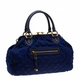 Marc Jacobs Purple Quilted Fabric Stam Shoulder Bag 201393