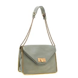 Chloe Grey Leather Medium Sally Shoulder Bag 198284