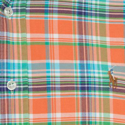 Ralph Lauren Multicolor Checked Cotton Logo Embroidered Button Down Shirt XL 186286 - 3
