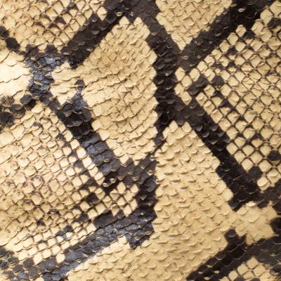 Maison Margiela Beige Faux Python Leather Slouch Peep Toe Ankle Boots Size 35.5 186795 - 6