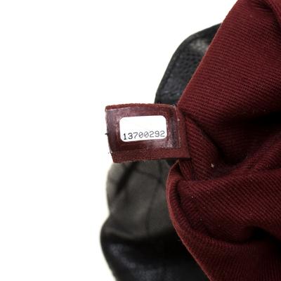 Chanel Black Caviar Leather CC Chain Shoulder Bag 187268 - 7
