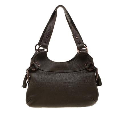 Mulberry Deep Green Leather Shoulder Bag 187024 - 3