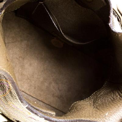 Mulberry Deep Green Leather Shoulder Bag 187024 - 6
