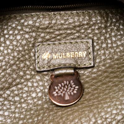 Mulberry Deep Green Leather Shoulder Bag 187024 - 7