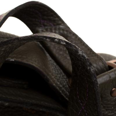 Mulberry Deep Green Leather Shoulder Bag 187024 - 9