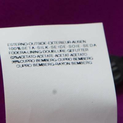 Gianfranco Ferre Purple Crepe Maxi Skirt L 186339 - 5