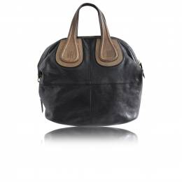 Givenchy Black Leather Mini Tote Bag 188634