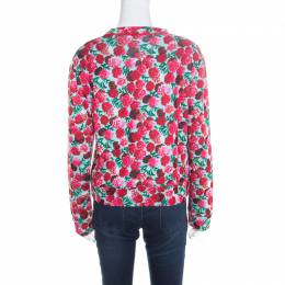 Marc Jacobs Multicolor Floral Print Sweatshirt M 171506