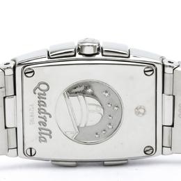 Omega MOP Stainless Steel Constellation Quadrella Women's Wristwatch 19MM 184446