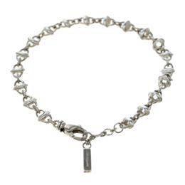 Montblanc Icon Link Motif Silver Chain Bracelet 186483
