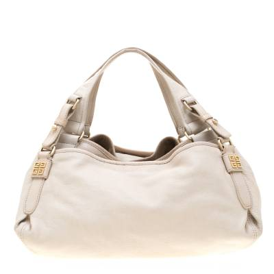 Givenchy Beige Leather Bucket Bag 187265 - 3