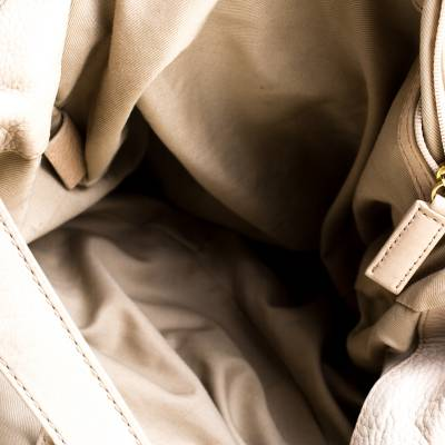 Givenchy Beige Leather Bucket Bag 187265 - 6