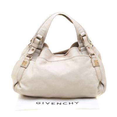 Givenchy Beige Leather Bucket Bag 187265 - 9