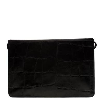 Mulberry Black Crocodile Embossed Clutch 187063 - 3