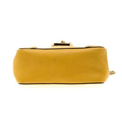 Chloe Mustard Leather Small Elsie Shoulder Bag 187023 - 5
