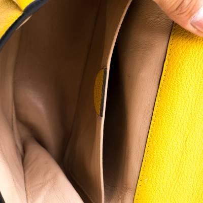 Chloe Mustard Leather Small Elsie Shoulder Bag 187023 - 6