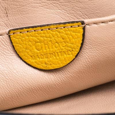 Chloe Mustard Leather Small Elsie Shoulder Bag 187023 - 8