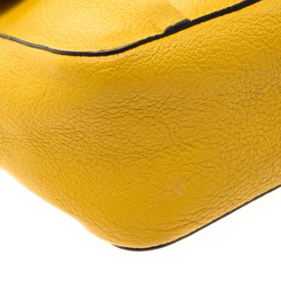 Chloe Mustard Leather Small Elsie Shoulder Bag 187023 - 10