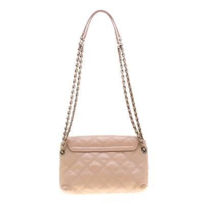 Marc Jacobs Nude Leather Baroque Shoulder Bag 187328 - 3