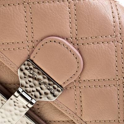 Marc Jacobs Nude Leather Baroque Shoulder Bag 187328 - 4